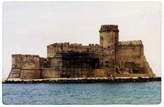 Le Castella - Crotone - Fotografia: Francesco Saverio ALESSIO, 1994 © copyright