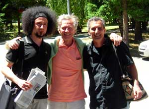 II International Philosphy Convention in Sila - Emiliano Morrone - Derrick de Kerckhove - Francesco Saverio Alessio- photography by Carmine Talerico - © copyright 2007